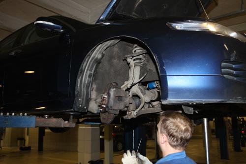 ремонт авто подвески